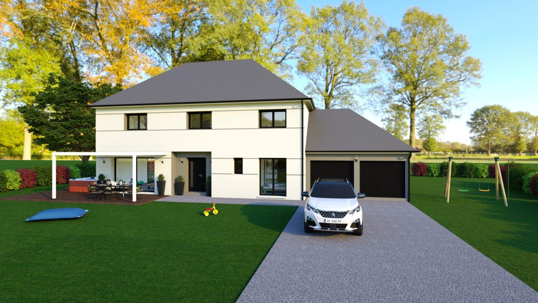 Modèle de maison sur mesure